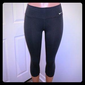Nike gray Dri-Fit Capri leggings
